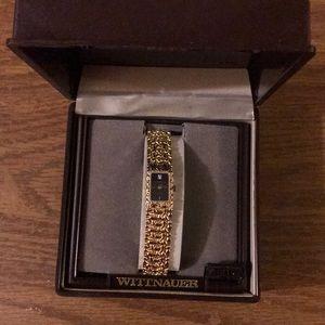 Ladies gold nugget watch